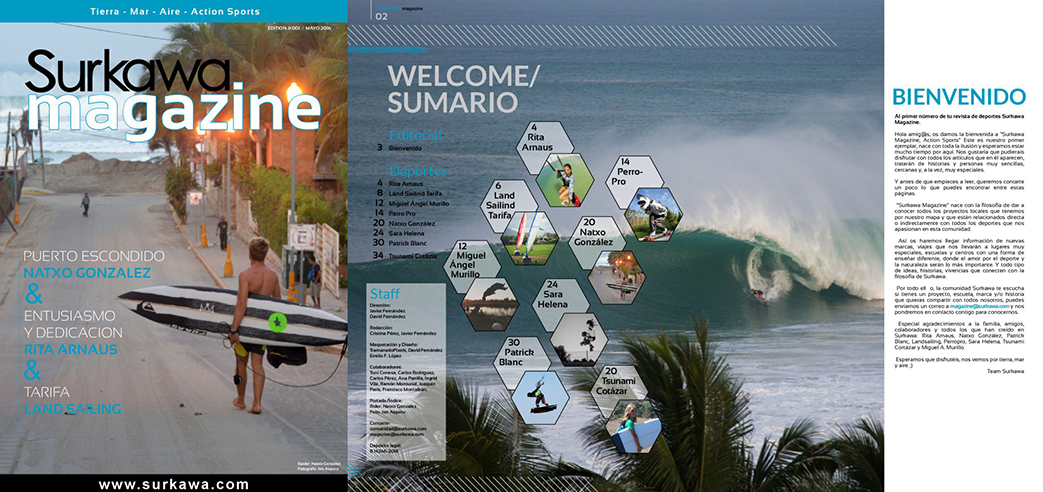Surkawa Magazine Action Sports